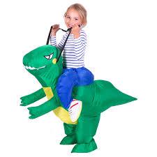 Dragon Halloween Costumes Kids Aliexpress Buy Ride Costume 3 Size Inflatable Dinosaur Rex