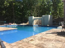 l shaped inground pool round designs