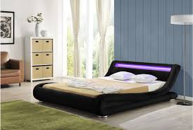 Bed With Lights In Headboard How To Use Led Lights As Home Décor