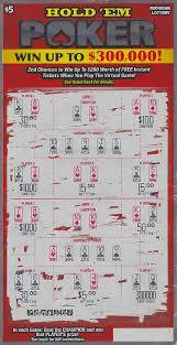halloween scratch off tickets eaton county man wins 300 000 playing michigan lottery u0027s hold u0027em