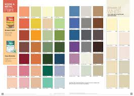 chart paint colour chart