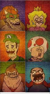 Super Mario Memes - super mario meme faces by davidprogamer64 on deviantart