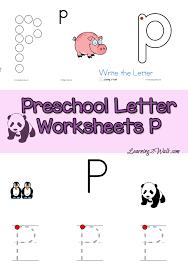 letter m preschool worksheets