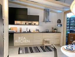 ikea wood kitchen cabinets what ikea knows about the black kitchen trend that you don