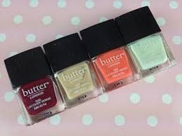high tea collection from butter london with love from lou