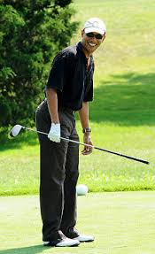 obama begins vacation on martha u0027s vineyard with round of golf ny