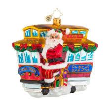 christopher radko ornaments 2016 radko ride along trolley