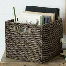 Christmas Decoration Storage Containers Uk by Baskets Bins West Elm Uk