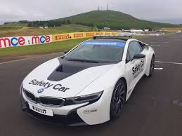 bmw i8 gold win a passenger ride in mce superbikes bmw i8 safety car