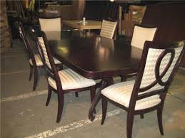 Kitchen   Person Dining Table Size Dining Room Sets With Bench - Thomasville dining room chairs