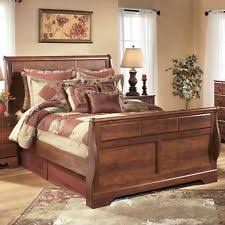 Sleigh Bed Frame Ashley Furniture Beds And Bed Frames Ebay