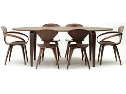 walnut dining tables canada modern renmen dining table walnut dining table is perfect in a formal or informal setting cherner tables