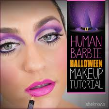Barbie For Halloween Costume Ideas Halloween Barbie Makeup That U0027ll Turn You Into A Living Doll