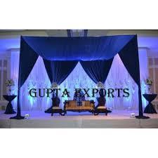 wedding backdrop blue wedding backdrops manufacturer wedding backdrops exporter