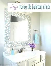 Square Bathroom Mirror Mirror Decorating Ideas Bathroom Mirror Decorating Ideas Square
