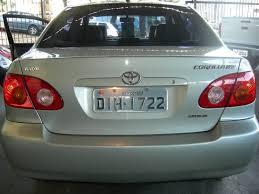 beto automóveis toyota corolla xei automátic0 2003 vendido