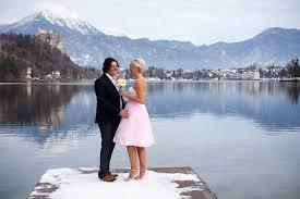lake bled winter wedding at lake bled gallery dream wedding slovenia