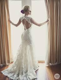 wedding dress no no back wedding dresses lace wedding dress open back say yes