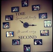 15 wonderful diy ideas for your living room 15 family clock