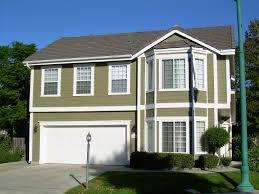 nice cream wall epoxy exterior paint that can be decor with white