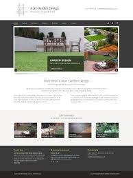 wordpress web design and build for bristol landscaper