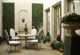 William Hill Interiors Small But Elegant Courtyard A Good Example Of How Even A Small