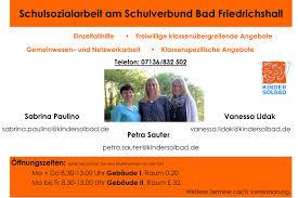 Freibad Bad Friedrichshall Otto Klenert Schule Bfh Schulsozialarbeit