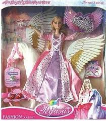 fake barbie magic pegasus doll photo flickriver
