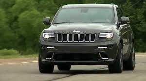 grey jeep grand cherokee 2016 2016 jeep grand cherokee srt running footage youtube