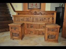 solid wood bedroom furniture youtube