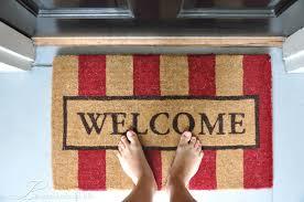 popular open door welcome mat and funny welcome mat open door