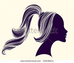 ponytail stock images royalty free images u0026 vectors shutterstock