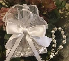italian communion favors italian pouch with decade rosary bomboniere italian favors