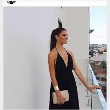 dress black formal dress low cut dress black maxi dress long