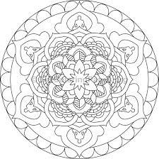 mandala coloring pages 18 u2013 getcoloringpages org