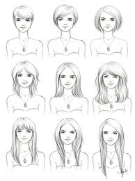 hairstyles put your face on the hairstyle different hairstyles on a slightly square to oval face shape