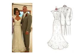 what your website page can look like wedding dress sketches