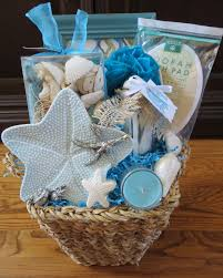 spa gift basket ideas relaxing sea themed spa gift basket sweet dreams