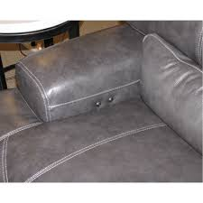 Reclining Leather Chair Reclining Leather Sofa W Power M004 Pf Pc Sp0d 0r Charcoal