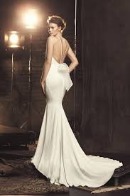 Fitted Wedding Dresses Fitted Crêpe Wedding Dress Style 2090 Mikaella Bridal