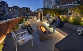 lakefront rooftop yard small project awards aia chicago