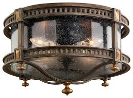 ls beekman place outdoor flush mount traditional