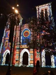 san fernando cathedral light show cathedral laser light show picture of san fernando de bexar