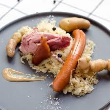 cuisiner un jambonneau choucroute au jambonneau fumé cook n roll