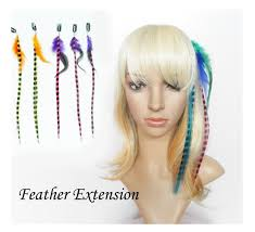 feather hair extensions mane colors clip in feather hair extensions set
