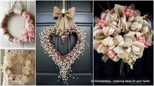 22 versatile shabby chic christmas wreaths that can be used all