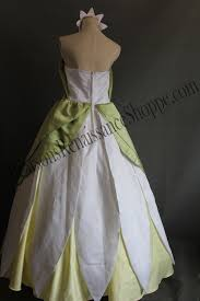 Princess And The Frog Princess Tiana Dress Princess And The Frog Princess