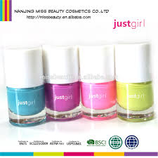 neon colors fast dry water based peel off flavored nail polish for