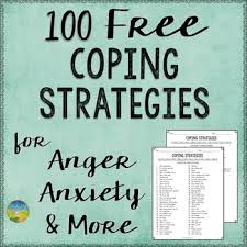 Coping Skills For Anxiety Worksheets 100 Free Coping Strategies By Pathway 2 Success Tpt