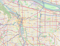 map of oregon portland file portland or map png wikimedia commons